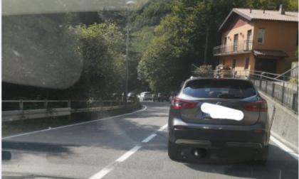 """Camion in panne: Lecco Ballabio chiusa a scendere. Code sulla """"vecchia"""""""