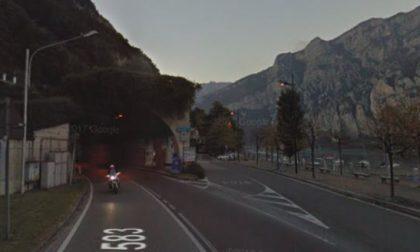 Riaperta la Lecco-Bellagio dopo la caduta massi