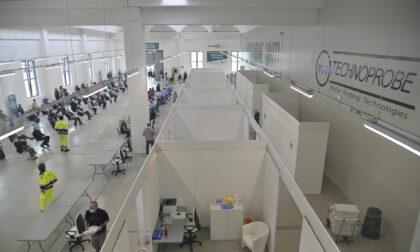 Technoprobe: centro vaccinale aperto fino al 25 ottobre