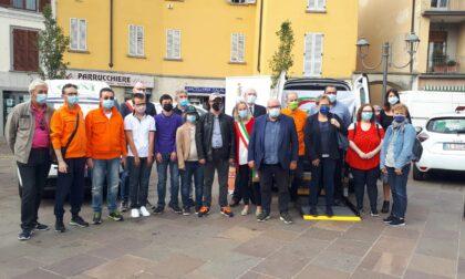 Oggiono: inaugurate le auto degli imprenditori locali ad Auser e Comune