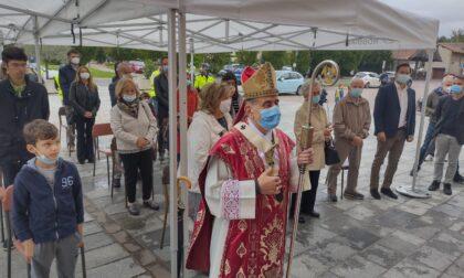 Arcivescovo Delpini in visita alla parrocchia di Robbiate FOTO