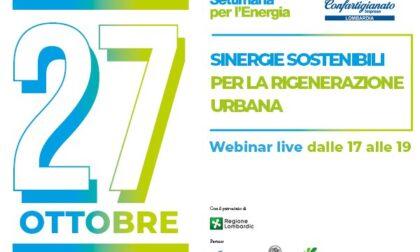 Dal 25 al 29 ottobre la 13ª edizione della Settimana per l'Energia