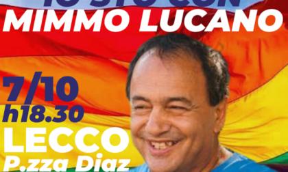 A Lecco presidio per Mimmo Lucano